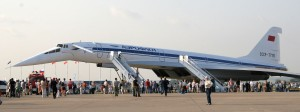 Le Tupolev TU-144 premier avion commercial à dépasser mach 2