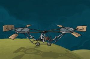 L'hélicoptère de Paul Cornu