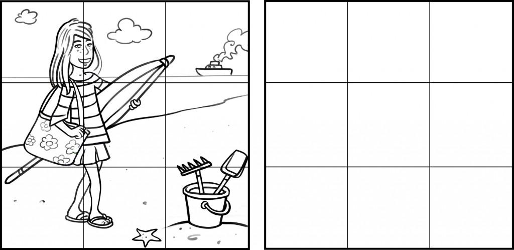 dessin-plage